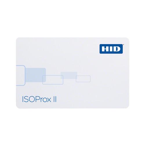 hid iso prox II isoproxII card 1386 printable flat proximity