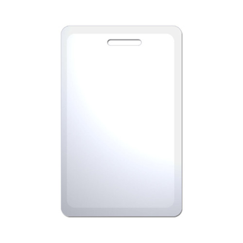 idshop brand 125KHz clamshell proximity access card non-printable white blank prox