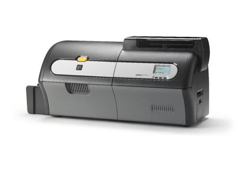 zebra zxp series 7 card printer - right side view
