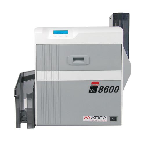 Card Printer - Matica / EdiSecure XID 8600 - Dual-Side - Retransfer Printer