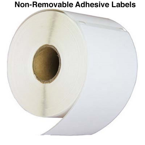30256 dymo shipping label - Permanent adhesive