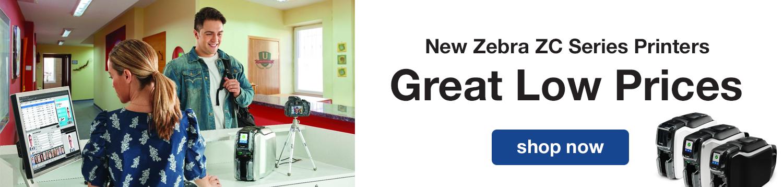 New Zebra ZC Series Printers