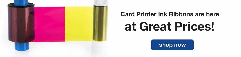Card Printer Ink Ribbons at Great Prices!