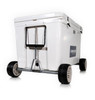 Yeti Tundra 210 with Badger Wheels 420 Axle, Handle not pictured