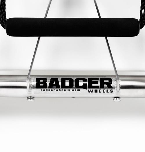 yeti cooler wheels badger badge