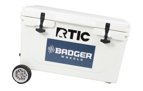 RTIC Standard Wheel Original Badger Wheels™ - Single Axle (Fits RTIC 45 and 65)