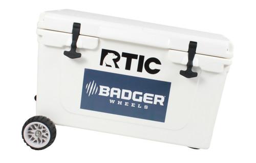 RTIC Standard Wheel Original Badger Wheels™ - Single Axle (Fits RTIC 45 and 65)