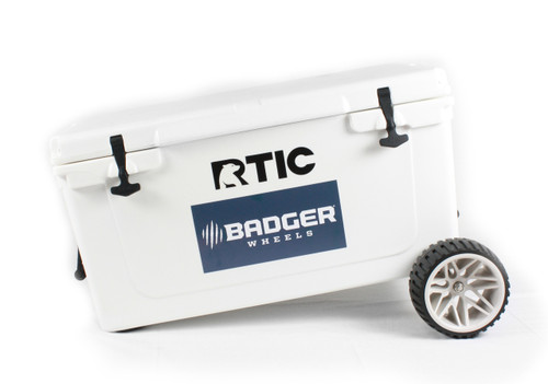 RTIC Large Wheel Badger Wheels™  Original - Single Axle (Fits RTIC 45 & 65)