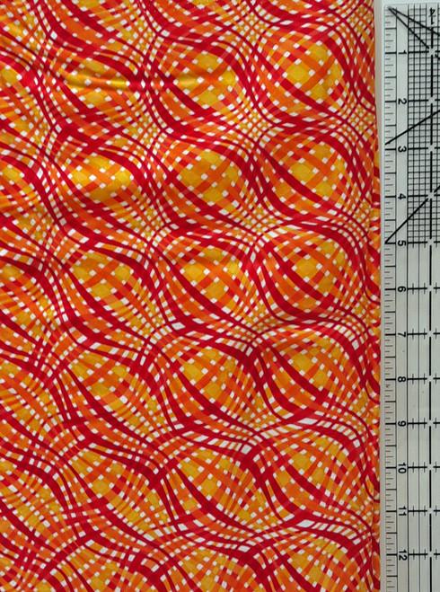 Red, Orange, Yellow Swirly Grid