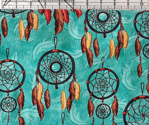 Dream Catchers on Teal