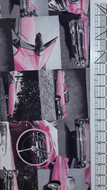 Pink Cadillac Collage