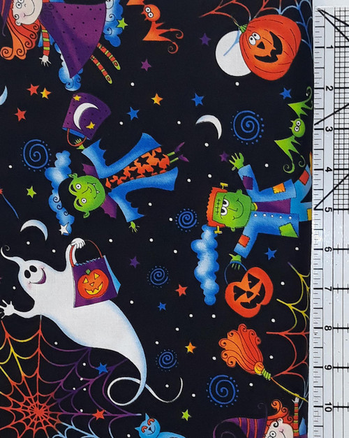 Colorful Halloween theme