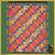 Saffron pattern card in fabrics for KT-04-413
