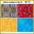 Quilt kit with fabric and pattern Quilt kit with pattern and 4 yards of fabric.