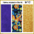 KT-03-313  Quilt kit with fabric and pattern Vibrant butterflies and flowers flutter off a black background  Skill level: Easy.