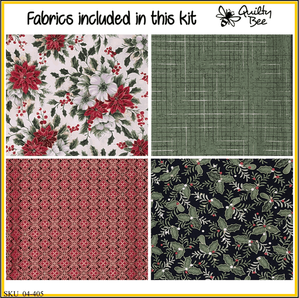 fabrics included in quilt kit