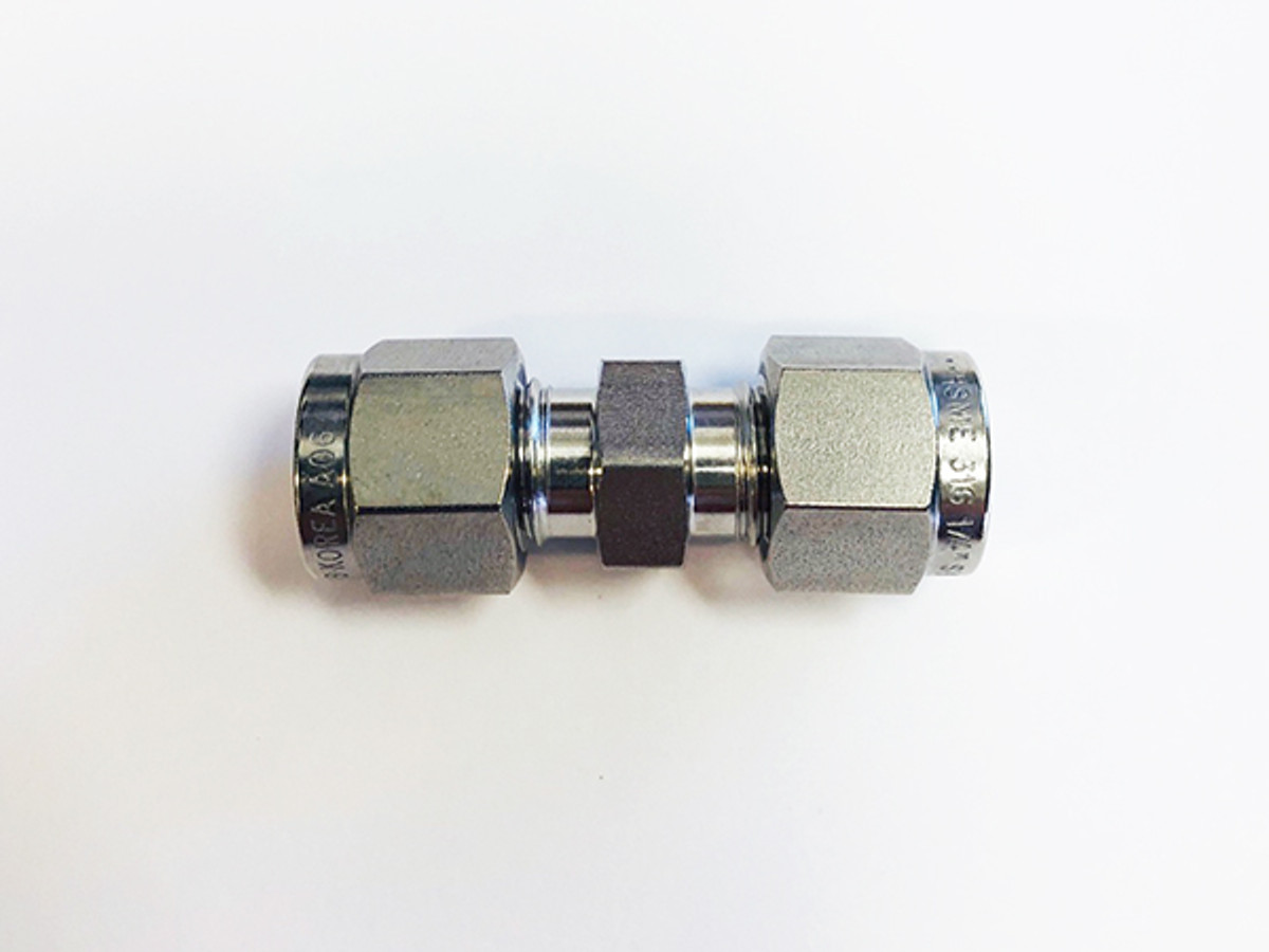"1/4"" Stainless Steel Union Fitting"