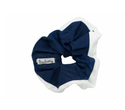 Scrunchie  - Navy & White