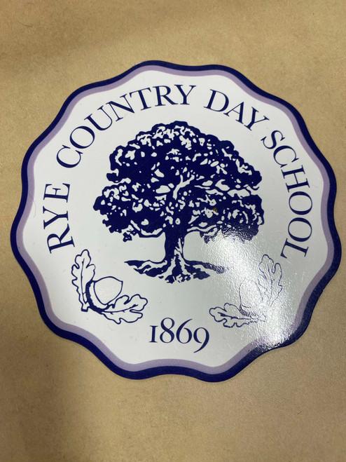 RCDS School Seal Car Magnet