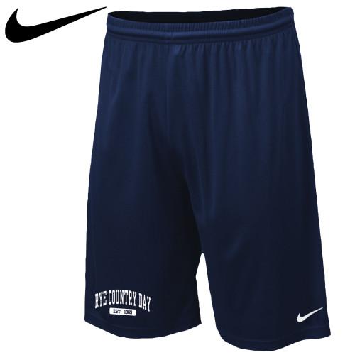 Nike Navy Performance Shorts - Youth