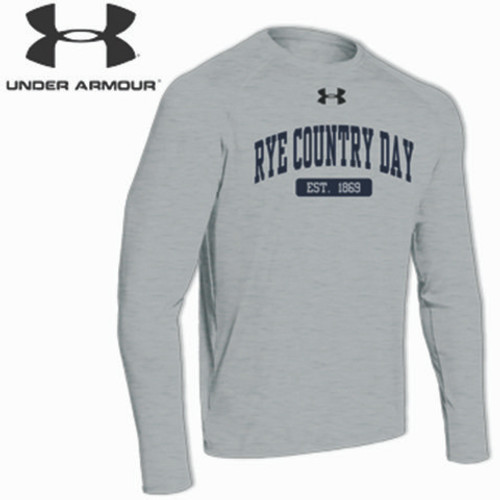 Under Armour Grey Long Sleeve - Youth