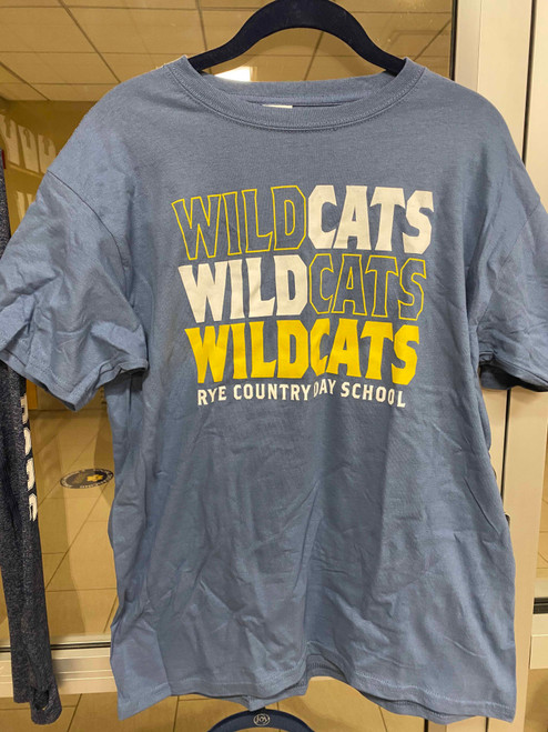 Indigo Wildcats Short Sleeve Tee - Youth