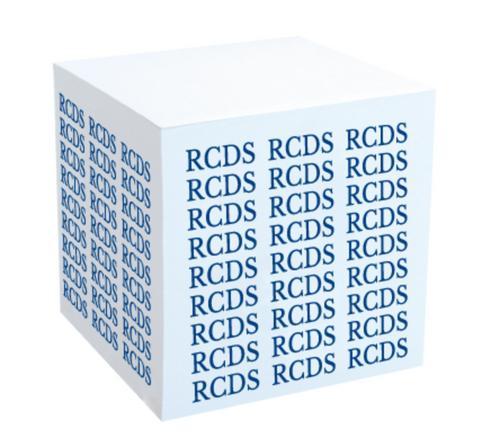 RCDS Paper Cube