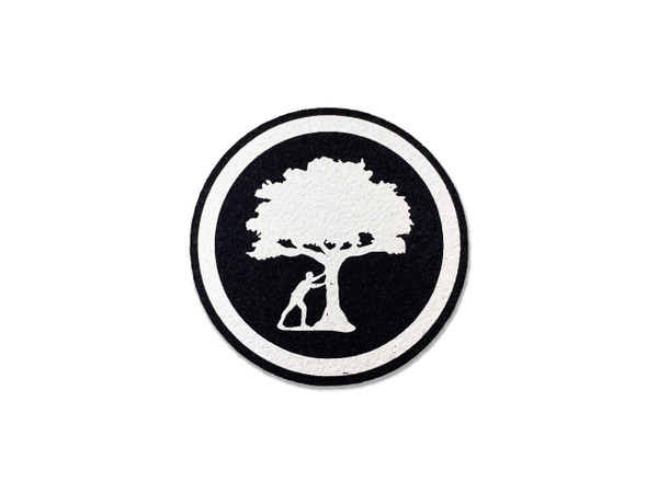 Push Trees Stamp Dab Mat