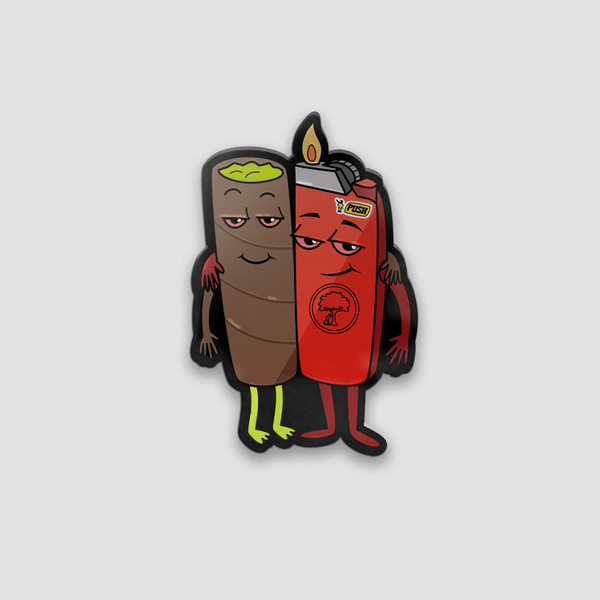 Homies for Life Pin