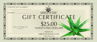 $25 Gift Certificate | On Sale!