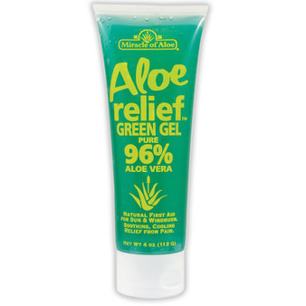 Aloe Relief Green Gel - 4 oz.