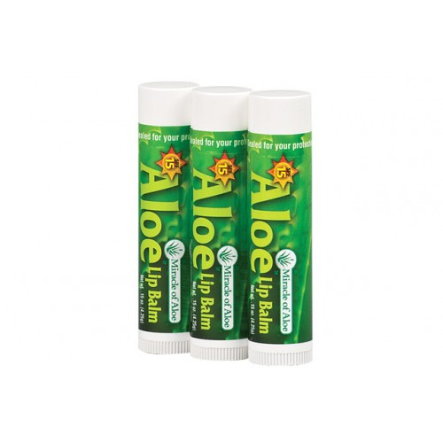 SPF-15 Lip Balm (3 pack) .15 oz.