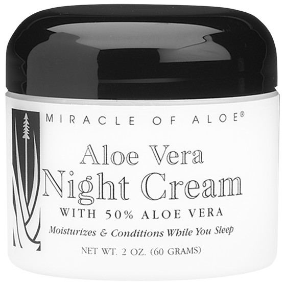Aloe Vera Night Cream - 2 oz. jar