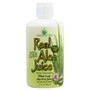 Real Aloe Juice 100% Purified & Filtered, 32 ounce bottle.