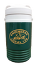 ½ gallon capacity. Flip spout designed for sipping and pouring. Easy grip lid designed for effortless opening and closing. Wide mouth. Swing up handle for carrying and pouring.