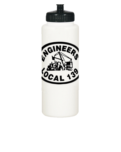Local 139 Water Bottle