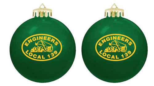 Local 139 Shatterproof Ornament