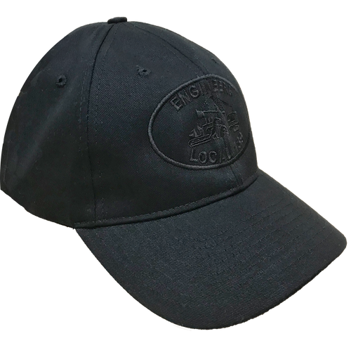 Black on Black Adjustable Hat