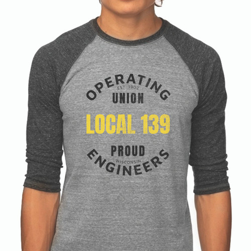 New 139 Proud Unisex Raglan