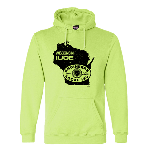 IUOE Wisconsin Safety Green Hoodie