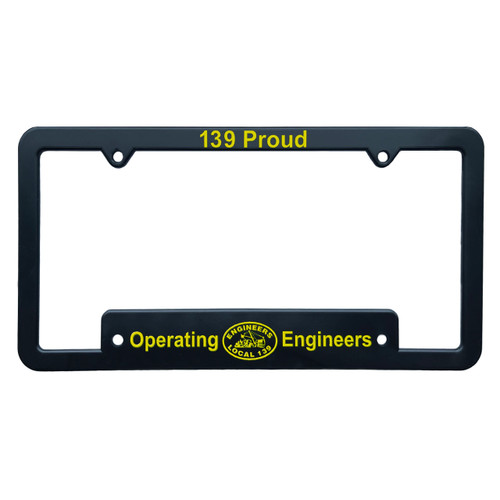 139 Proud License Plate Frame