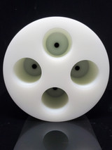 ROUND STOPPER MOLD - 4 CHAMBER