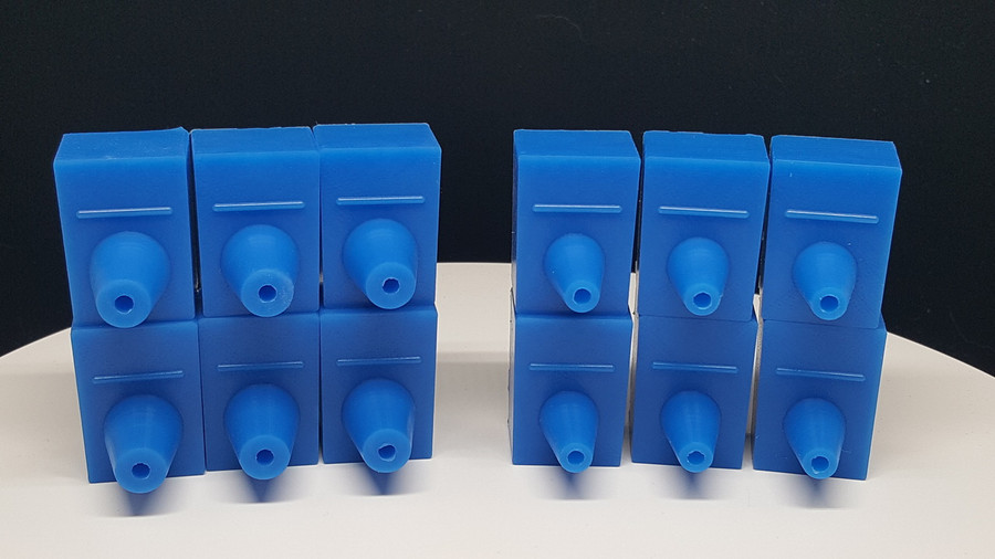 """""""GATOR MOLD - COMBO CASTING SYSTEM"""" REPLACEMENT INSERTS (SET)"""