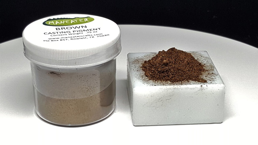 MANEATER CASTING PIGMENT - BROWN