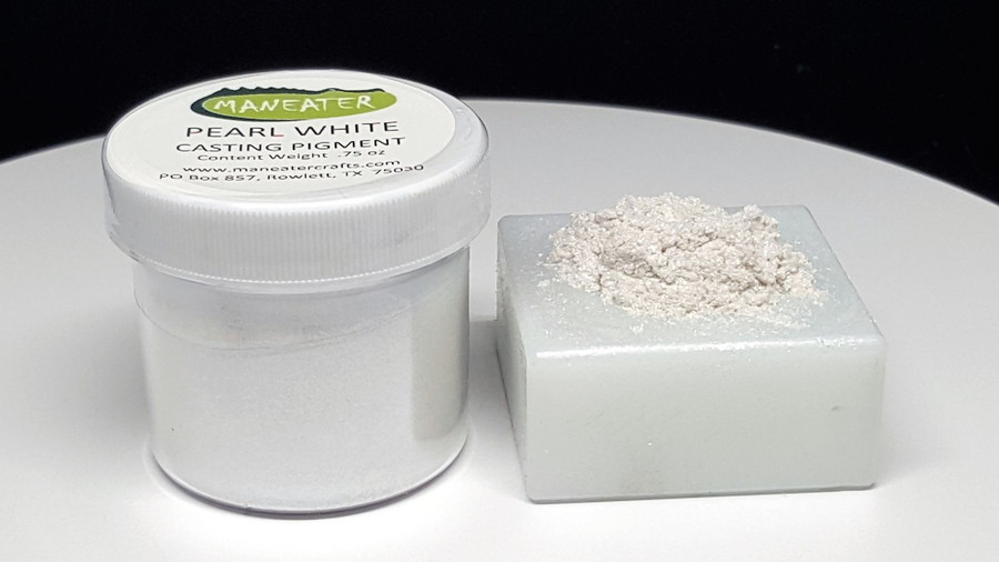 MANEATER CASTING PIGMENT - PEARL WHITE