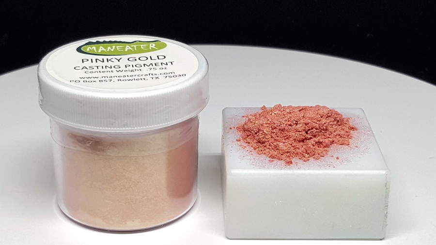 MANEATER CASTING PIGMENT - PINKY GOLD