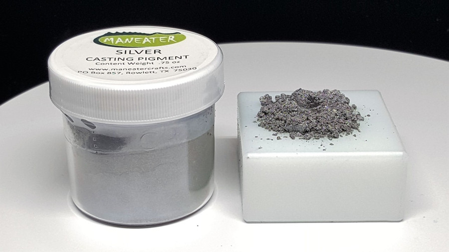 MANEATER CASTING PIGMENT - SILVER