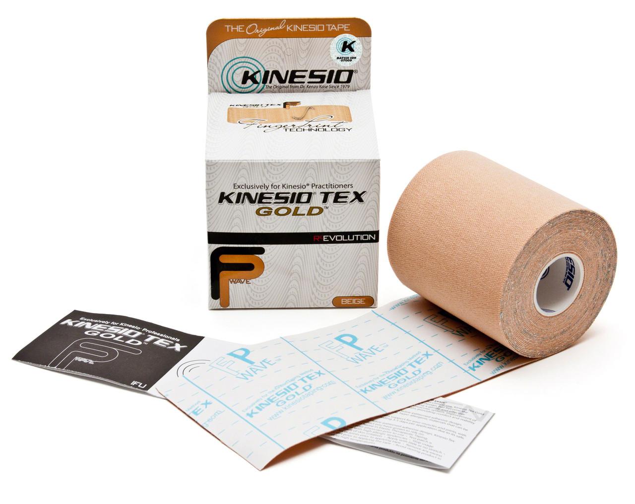 Beige Tex Gold Finger Print Tape Color