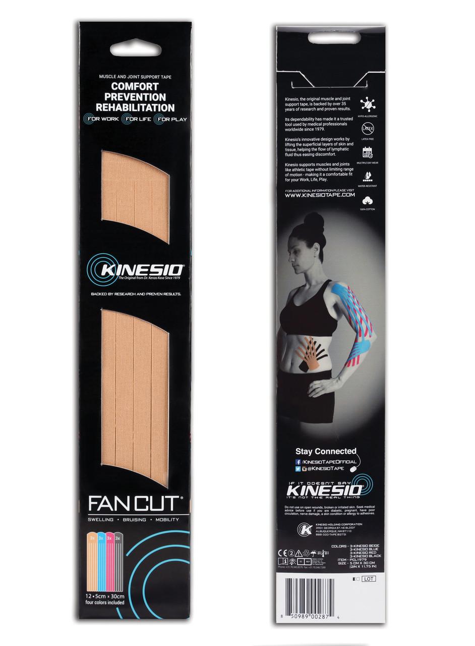 Kinesio Fan Cut Packaging
