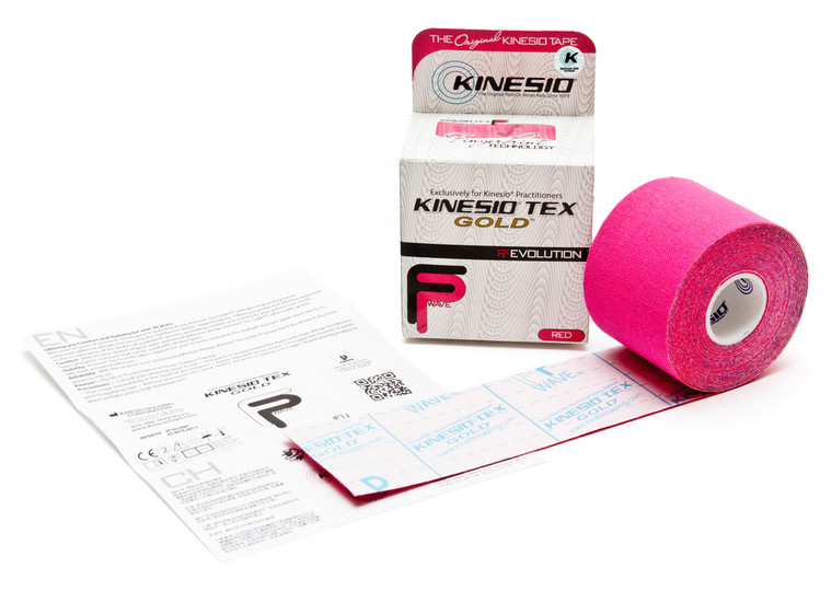 "Kinesio Tex Gold FP: 2"" Red"